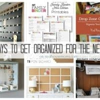 25 Ways to Get Organized for the New Year FEAT
