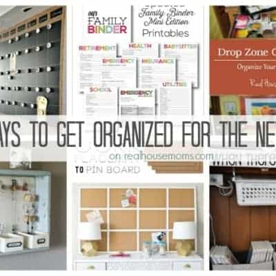 25 Ways to Get Organized for the New Year