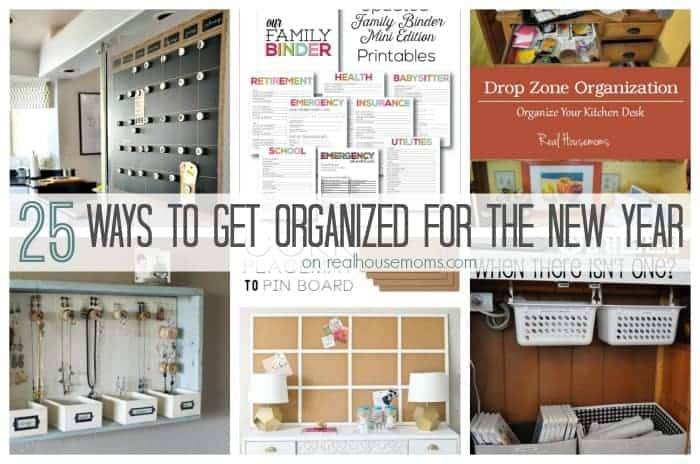 25 ways to get organized for the new year real housemoms. Black Bedroom Furniture Sets. Home Design Ideas