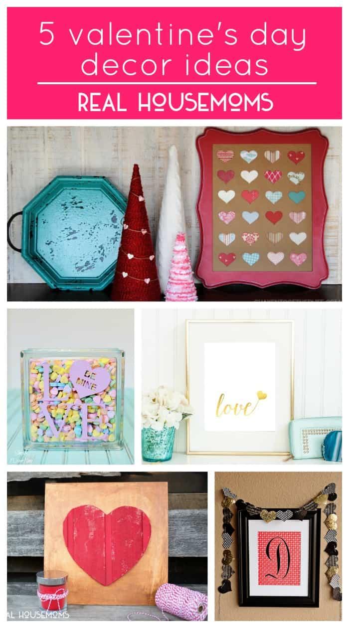 5 Valentine's Day Decor Ideas | Real Housemoms