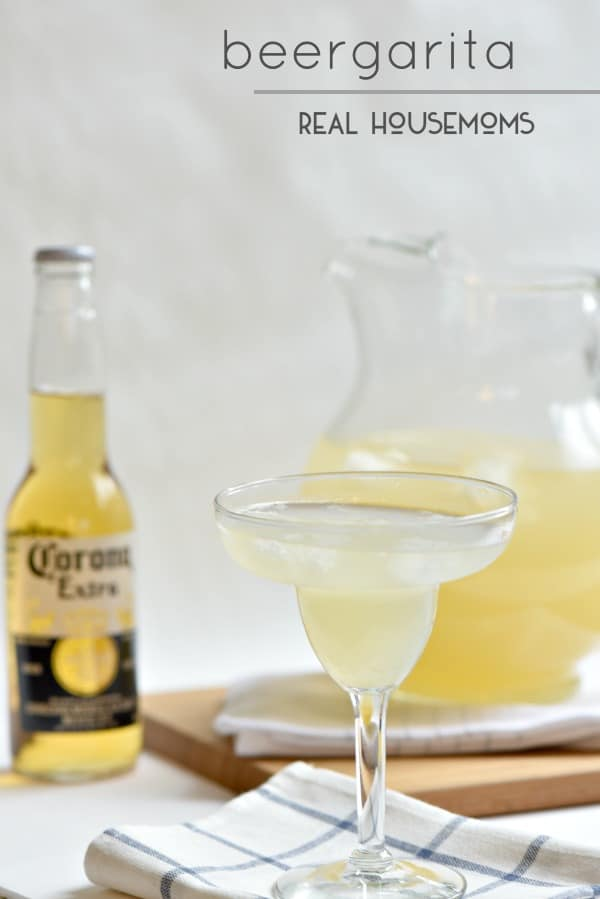 I love a good Beergarita like this one!  It's a great pitcher cocktail for parties with friends.