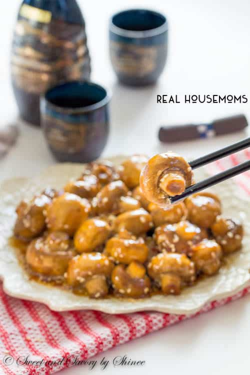 Sesame Garlic Mushrooms | Real Housemoms