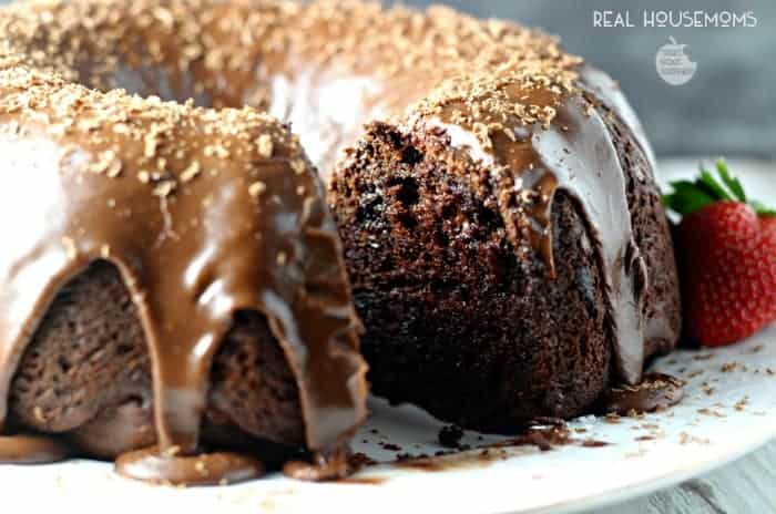 Chocolate Overload Cake | Real Housemoms