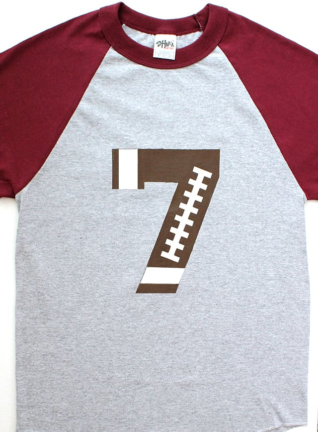Custom-Football-Number-Shirt