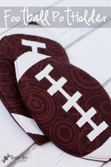 DIY Football Potholder