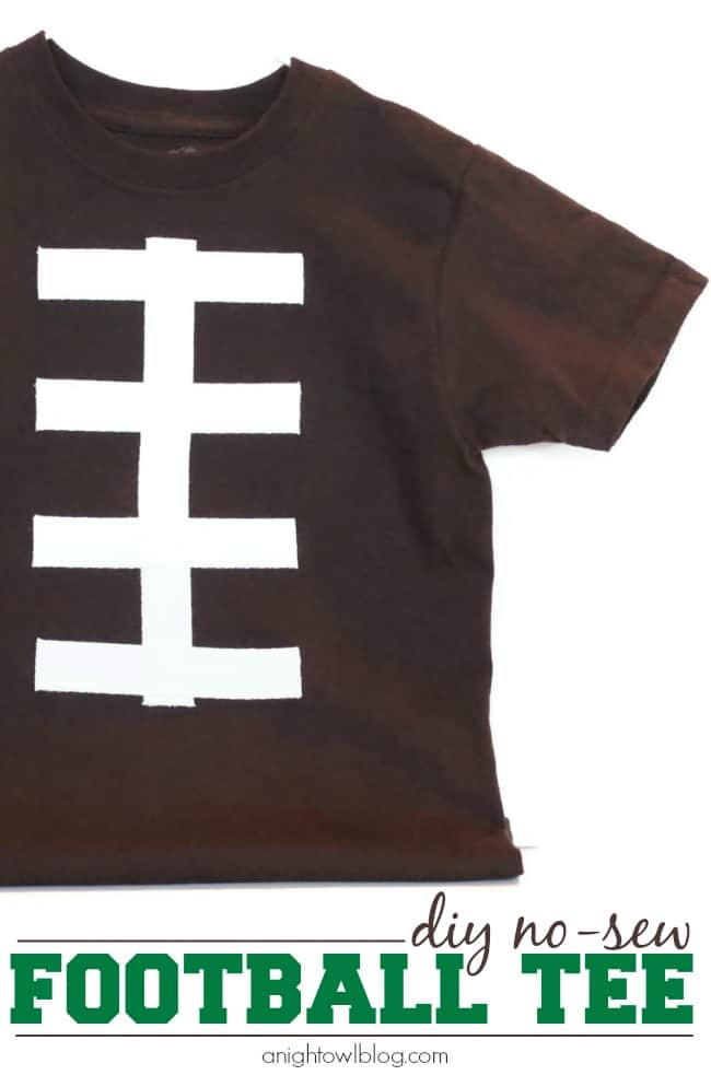 DIY-No-Sew-Football-Tee