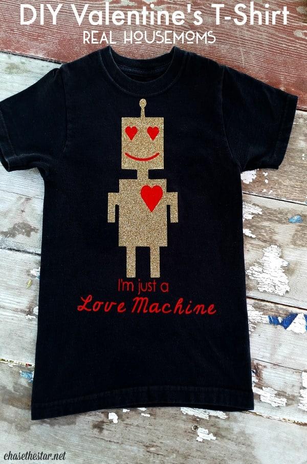 Diy Valentine S T Shirt Real Housemoms