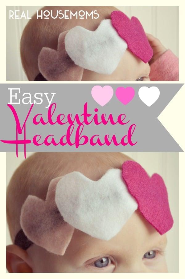 Easy Valentine's Headband   Real Housemoms