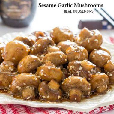 Sesame Garlic Mushrooms