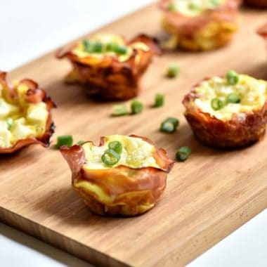 Ham Swiss and Egg Cups