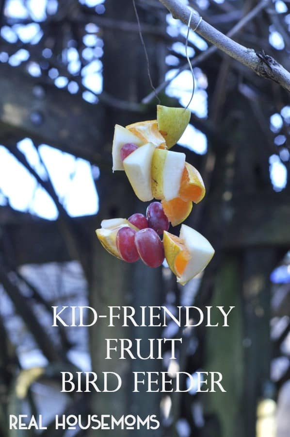 Kid-Friendly DIY Bird Feeder | Real Housemoms