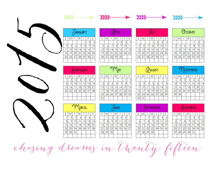 2015 At-A-Glance Calendar | Real Housemoms