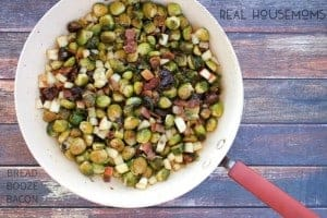 RH Brussels Sprouts with Bacon, Dates, and Apples 2