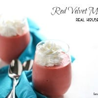 Nothing says I love like a rich and creamy red velvet milkshake!