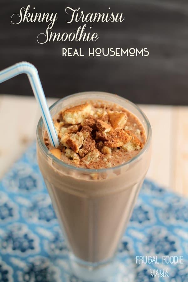 Skinny Tiramisu Smoothie | Real Housemoms