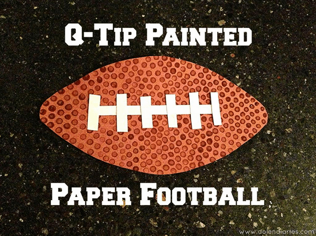 qtip painted football