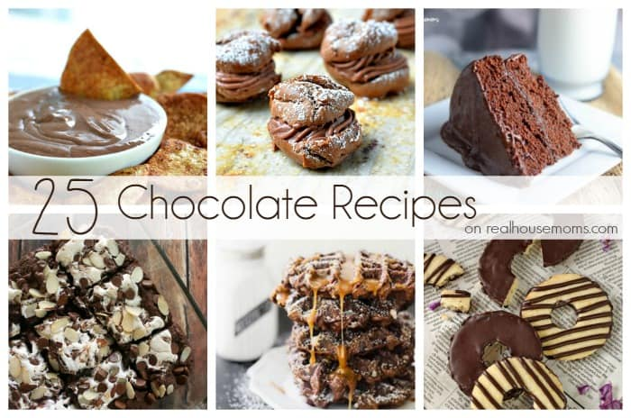 25 Chocolate Dessert | Real Housemoms