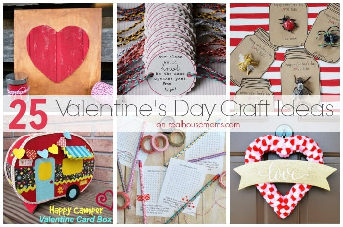 25 Valentine's Day Craft Ideas