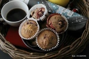 Chocolate Berry Muffins FEAT