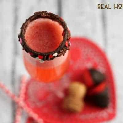 Chocolate Covered Strawberry Bellini
