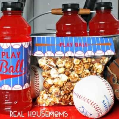 Baseball Snack Printables