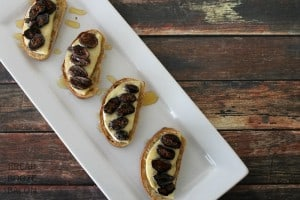 Fig, Honey & Brie Bruschetta | Bread Booze Bacon