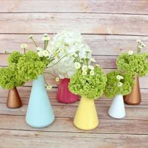 Room & Board Inspired Flask Vases from View From The Fridge