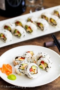 Homemade Sushi Rolls ~Sweet and Savory by Shinee