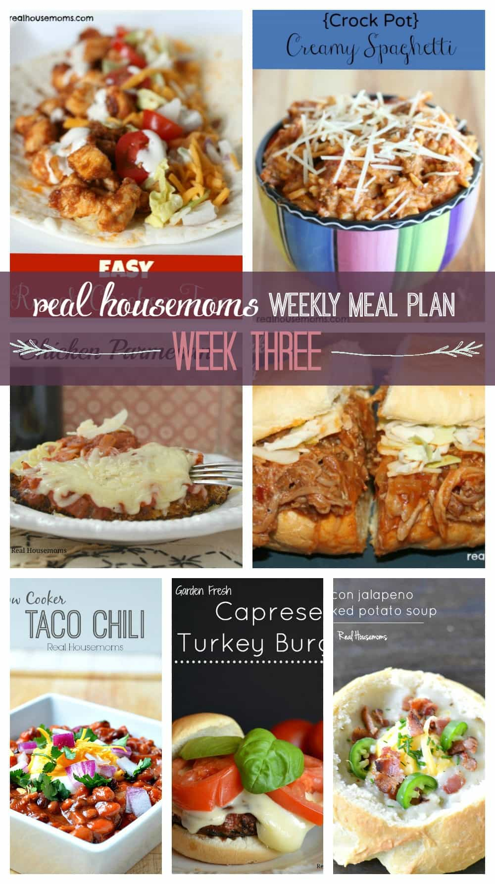 weekly meal plan week 3 real housemoms