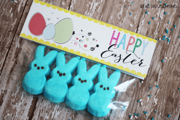 Printable Easter Bag Toppers | Real Housemoms