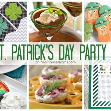 25 St. Patrick's Day Party Ideas photo collage