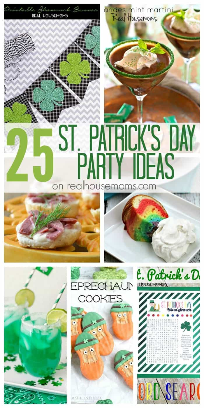 25 St Patricks Day Party Ideas Real Housemoms