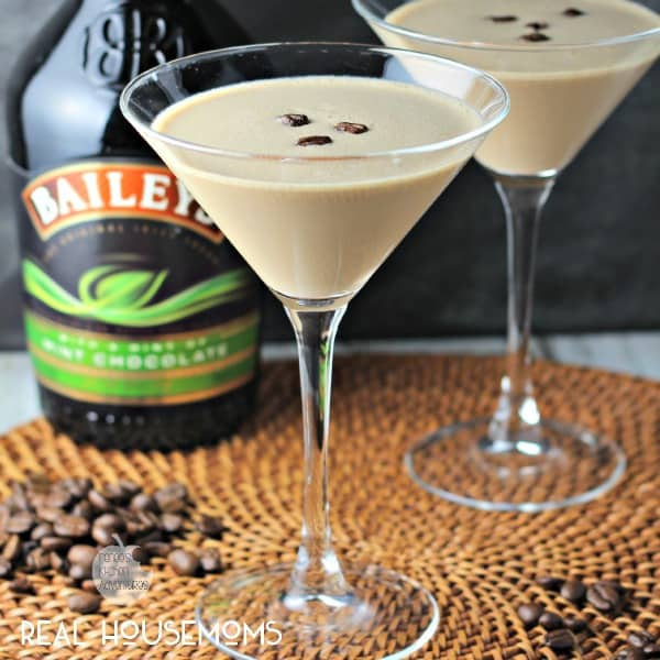 Bailey's Flat White Martini
