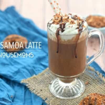 Boozy Samoa Latte