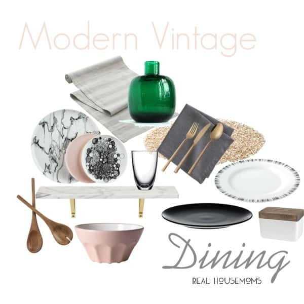 Scout + Score : Modern Vintage Dining | Real Housemoms