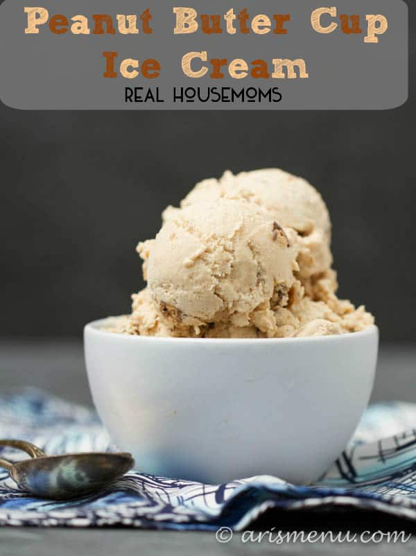 Peanut Butter Cup Ice Cream is easy to make and will have you falling in love with homemade ice cream!