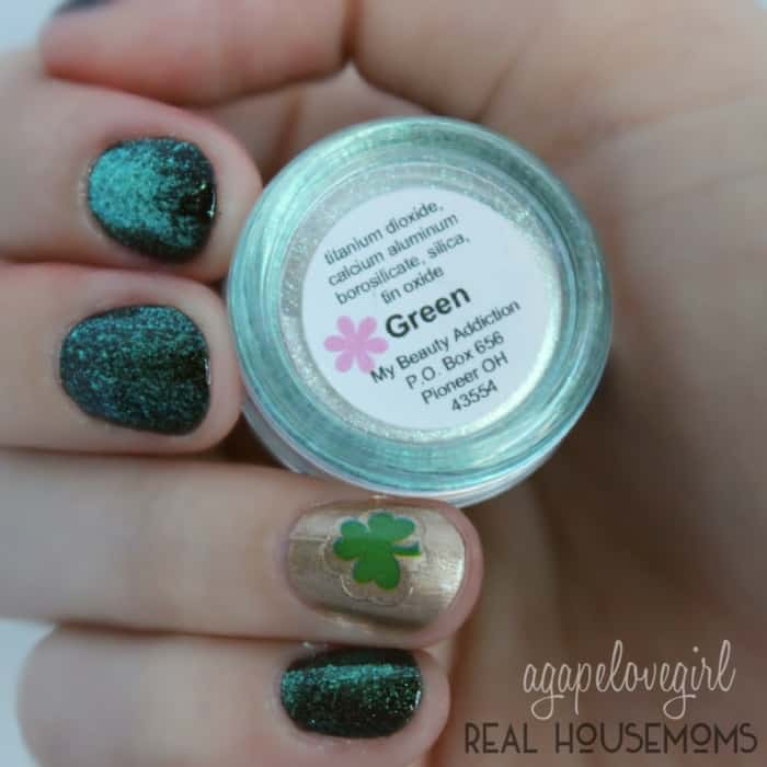 Simple Sophisticated St. Patrick's Day Mani | Real Housemoms