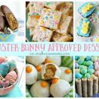 25 Easter Bunny Approved Desserts on Real Housemoms