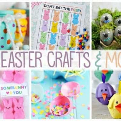 25 Easter Crafts & More