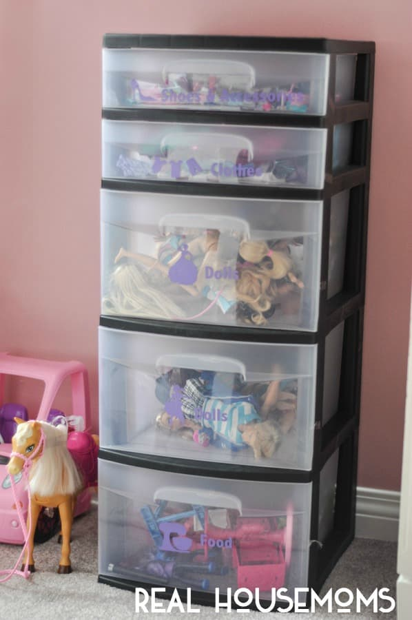 Barbie Doll Organizer- In Text