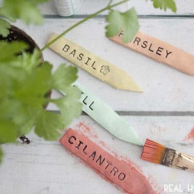 DIY Herb Marker Stakes