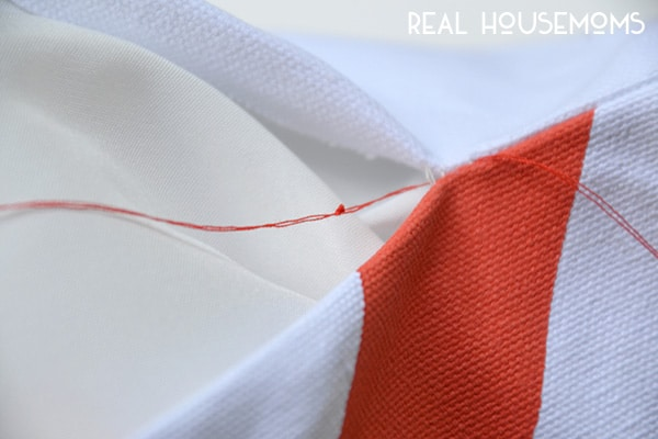 Invisible Ladder Stitch | Real Housemoms