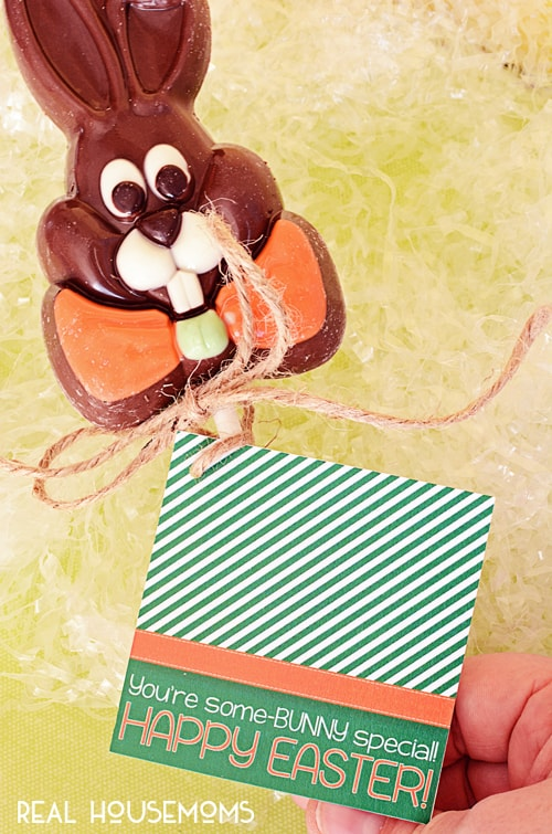 Some Bunny Special Gift Tag   Real Housemoms