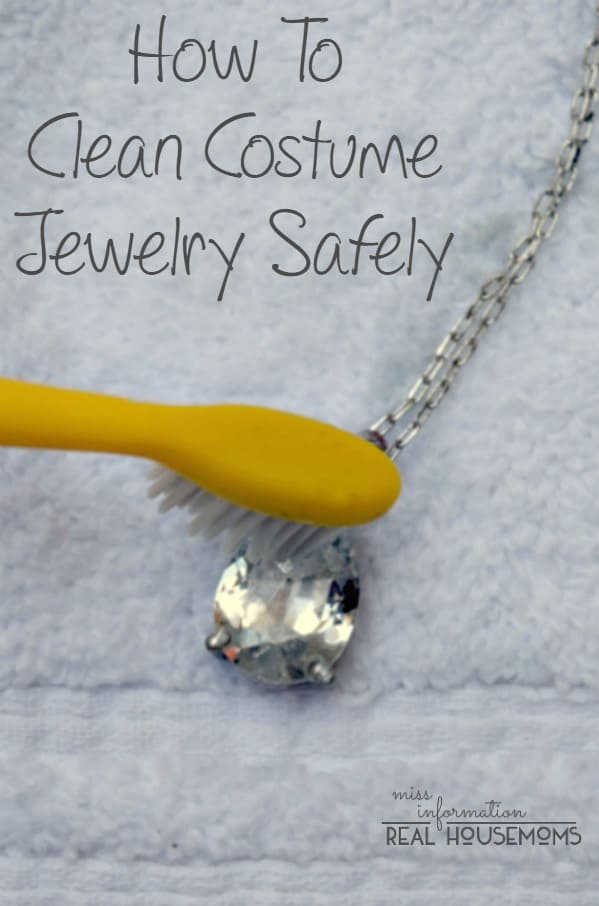 how to clean costume jewelry real housemoms