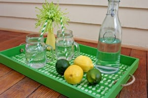 Upcycled Serving Tray | View From The Fridge
