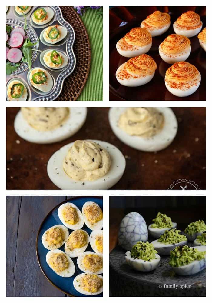 25 Deviled Egg Recipes on Real Housemoms