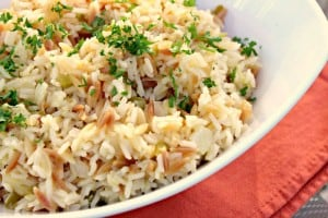 pineapple rice pilaf