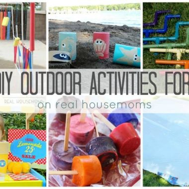 25+ DIY Outdoor Activities for Kids