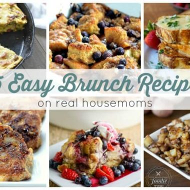 25 Easy Brunch Recipes | Real Housemoms