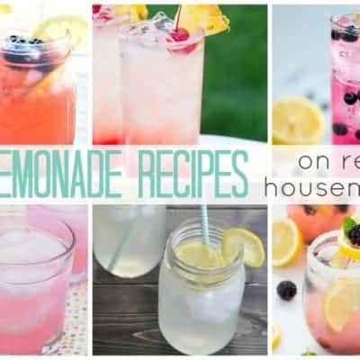 25 Lemonade Recipes